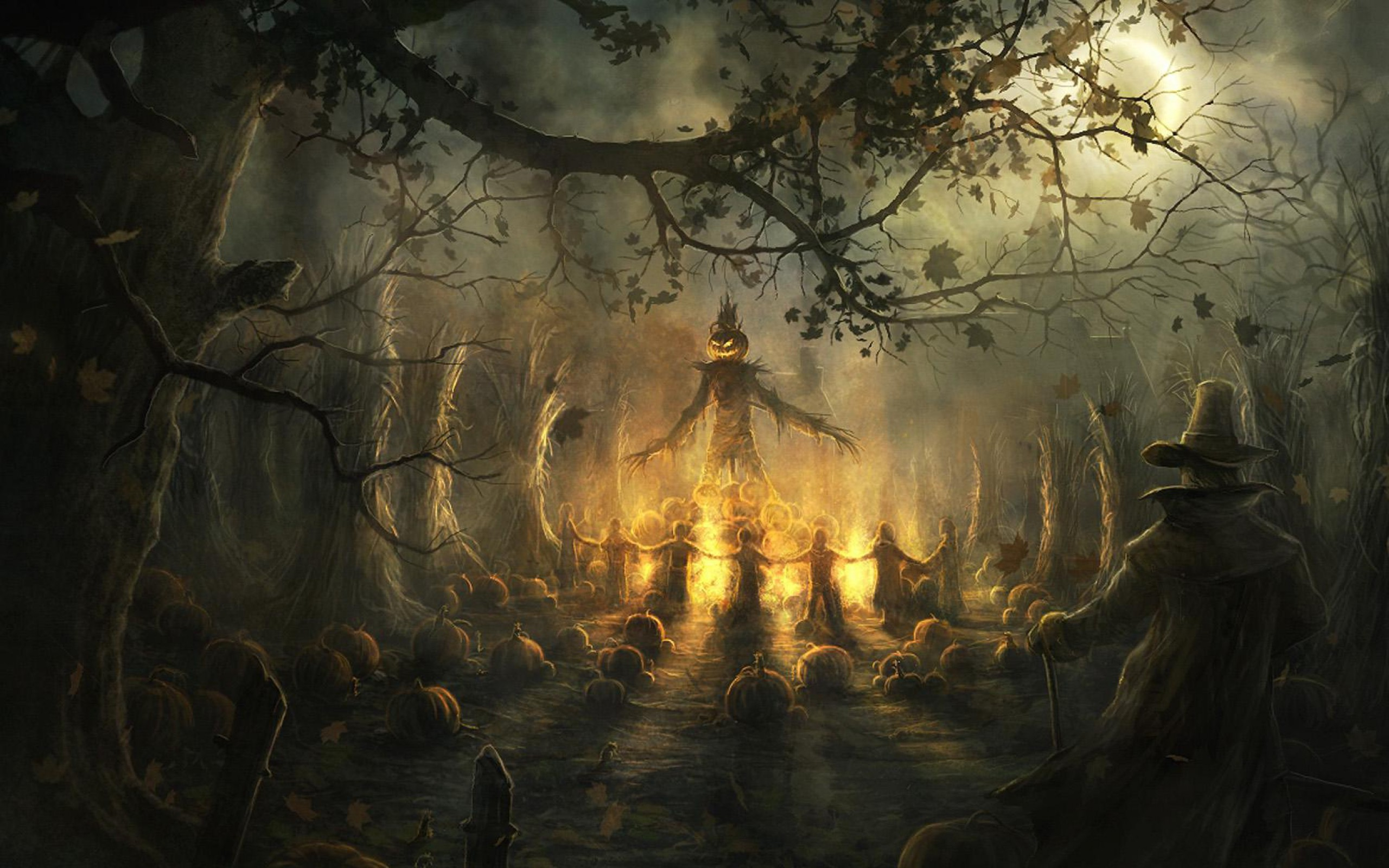 Sizzling Halloween-Wallpapers