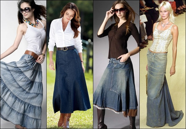 Denim-Maxi-Skirt-Fashion-Style