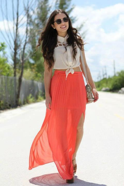 Hot Maxi Skirt Trends