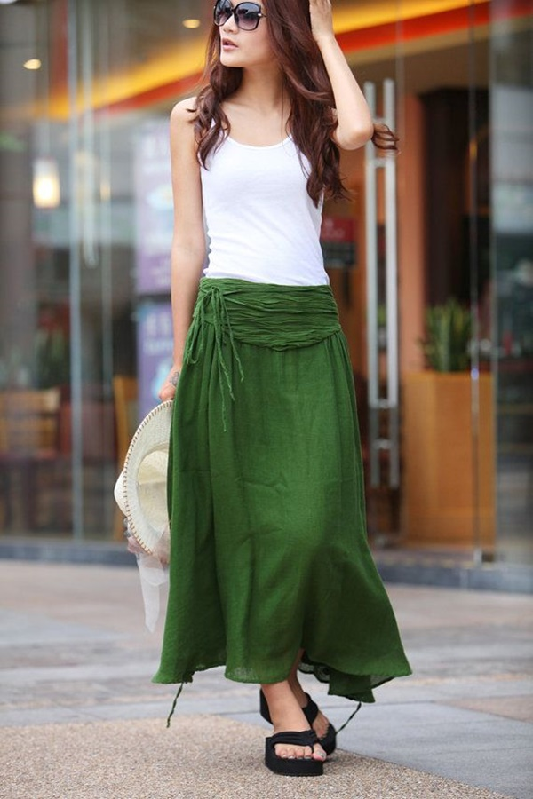 Maxi-Skirt-Outfits-Ideas-for-Girls16