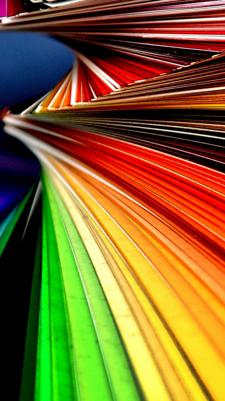 Abstract Colorful Lines Angle iPhone 6 Wallpaper