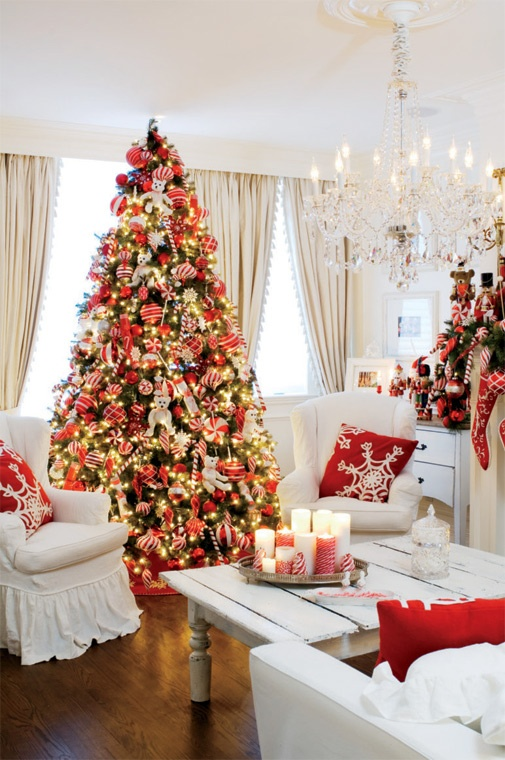 20 christmas living room decoration ideas