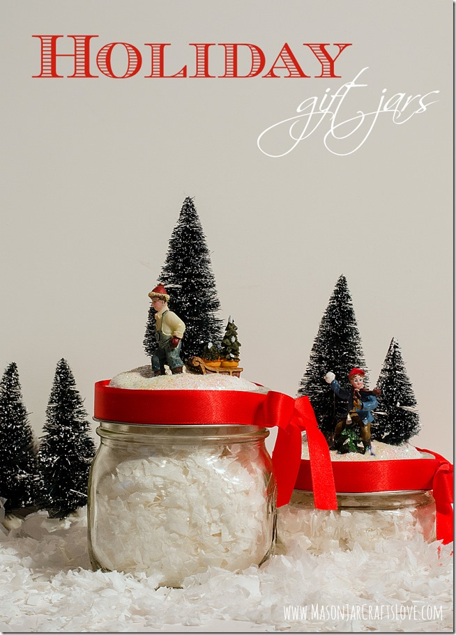 DIY Holiday Gift Jars