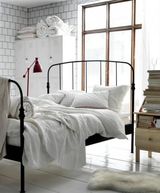 Industrial Bedroom Designs 11