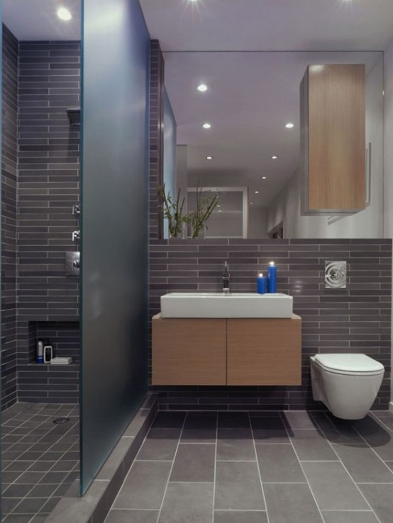 Masculine Bathroom Ideas 35