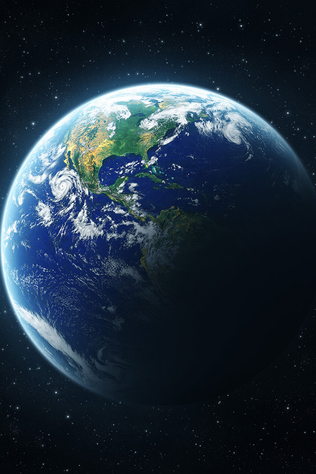 Planet Earth IPhone Wallpaper