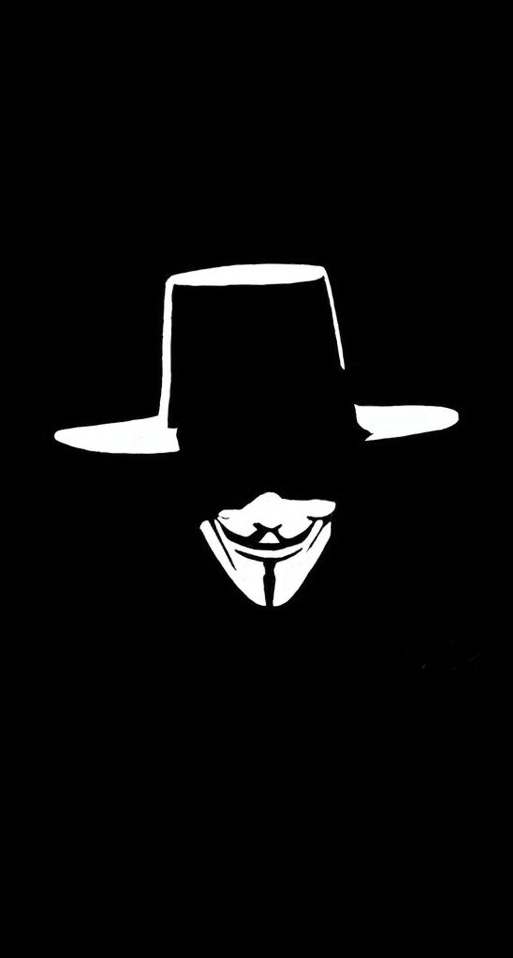 Best Wallpaper Halloween Lock Screen - V-For-Vendetta-Hat-Face-Illustration-iPhone-6-Plus-HD-Wallpaper  You Should Have_801089.jpg