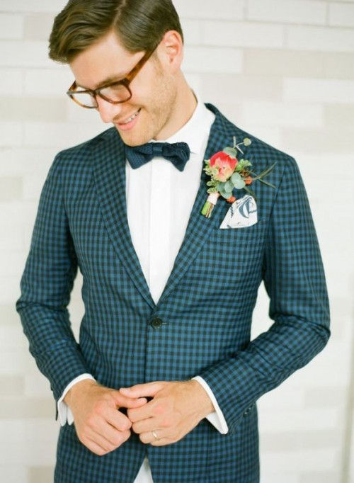 Patterned Suits