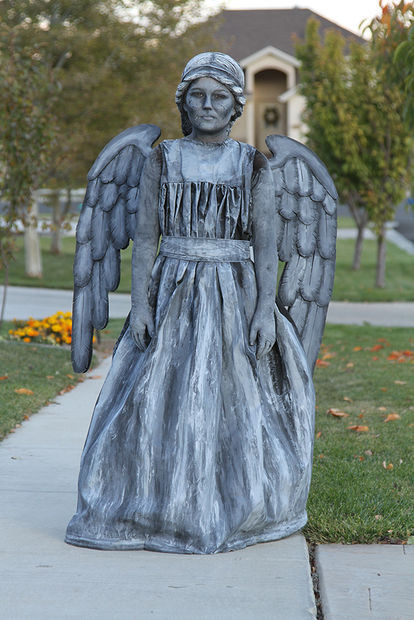 The Weeping Angel from Doctor Who