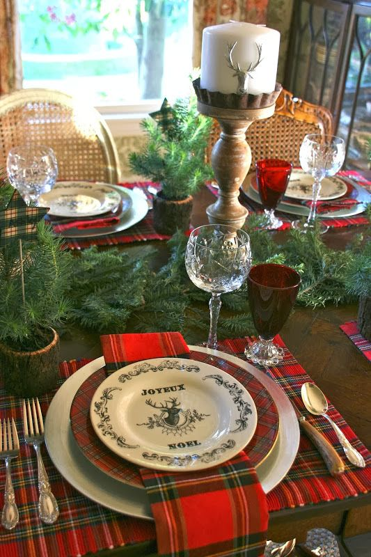 25 Tartan Decor Ideas You Must Try This Christmas 11