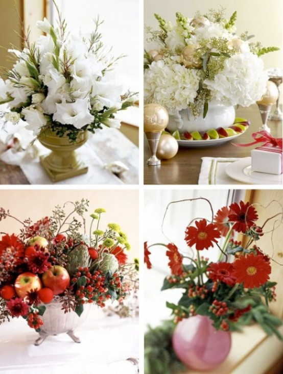 Beautiful Christmas Centerpieces 9