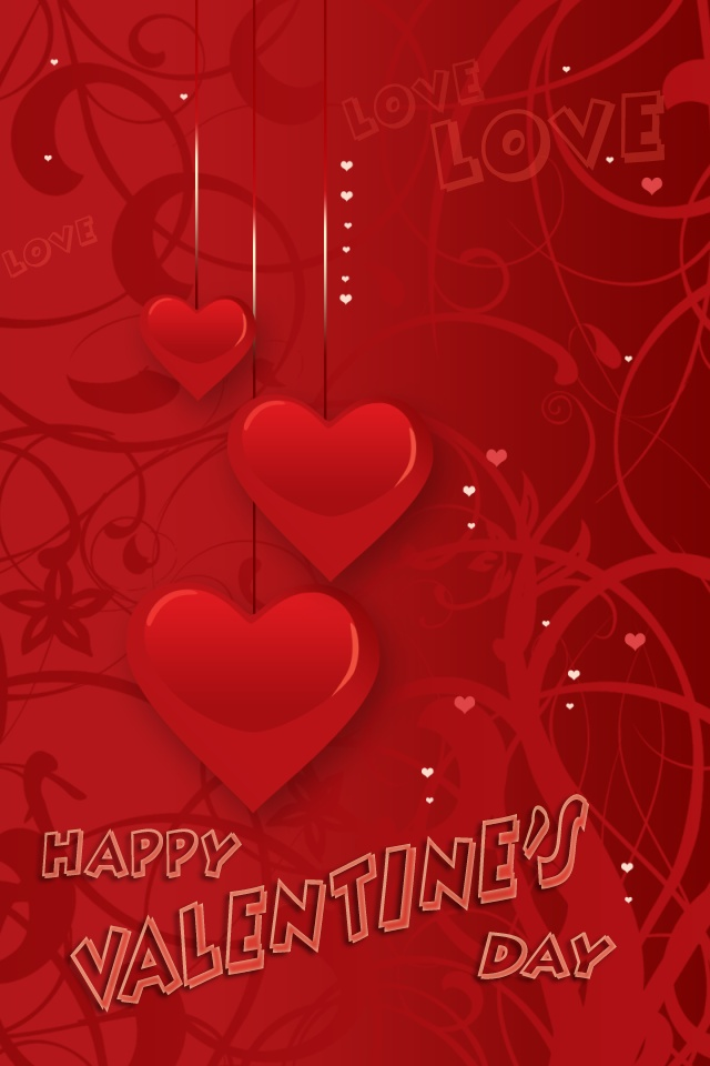 Valentine's Day iPhone Wallpaper - 1