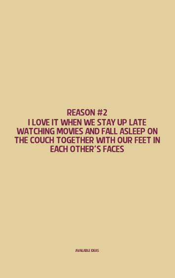 52 Reasons I Love You Quotes : 52 Reasons Why I Love You Love Quotes