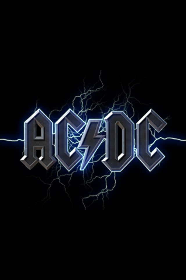 AC DC iPhone Wallpaper