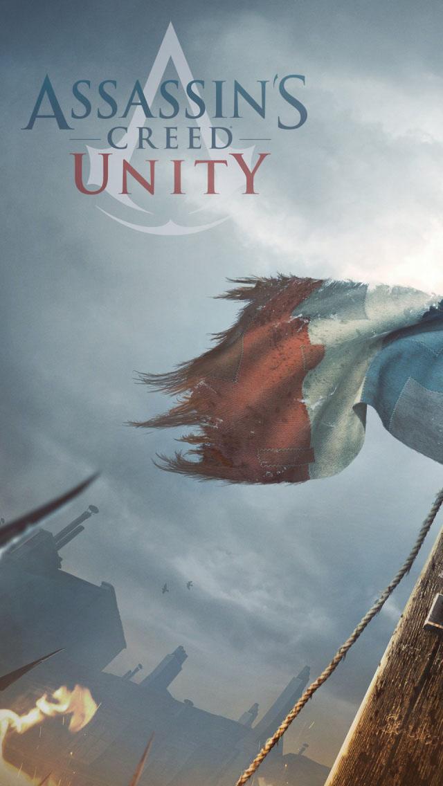Assassins Creed Unity 2014 iPhone 5 Wallpaper