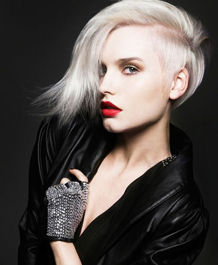 Awesome-Platinum-Hairstyle-with-Amazing-Undercut