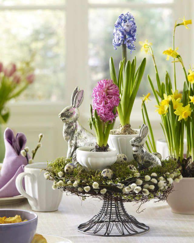 Easter Flower Table Arrangements 1