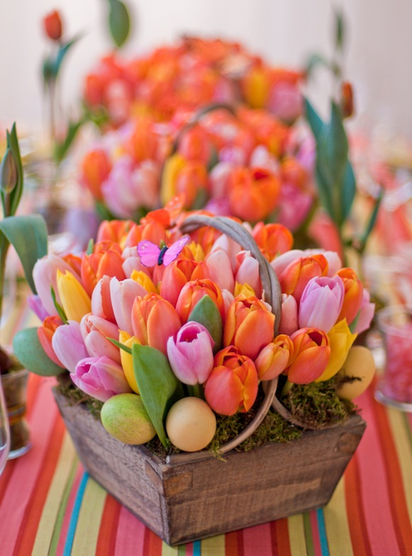 Easter Flower Table Arrangements 22