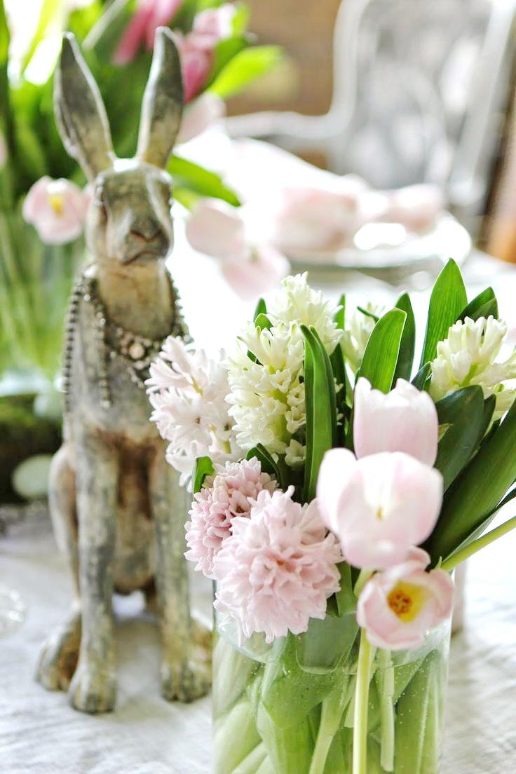 Easter Flower Table Arrangements 31