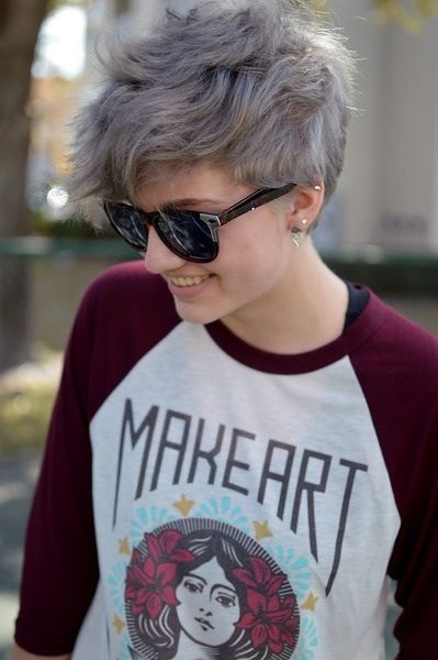 Grey-Pixie-Hairstyle
