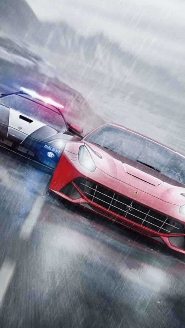 Need For Speed Rivals iPhone 5 Wallpaper