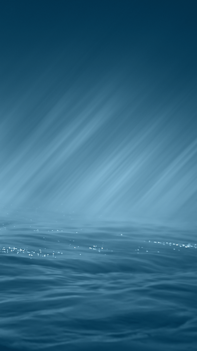 New iOS 8 Water Rain Lock Screen iPhone 5 Wallpaper