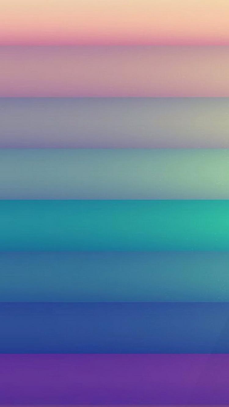 Pastel Color Stripes iPhone 6 Wallpaper