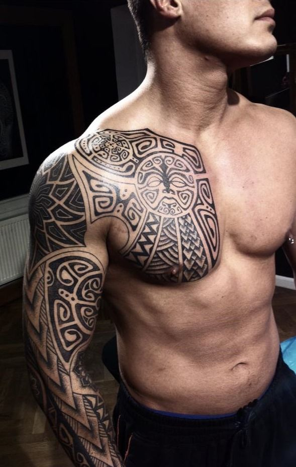 Sleeve tattoo Ideas 31