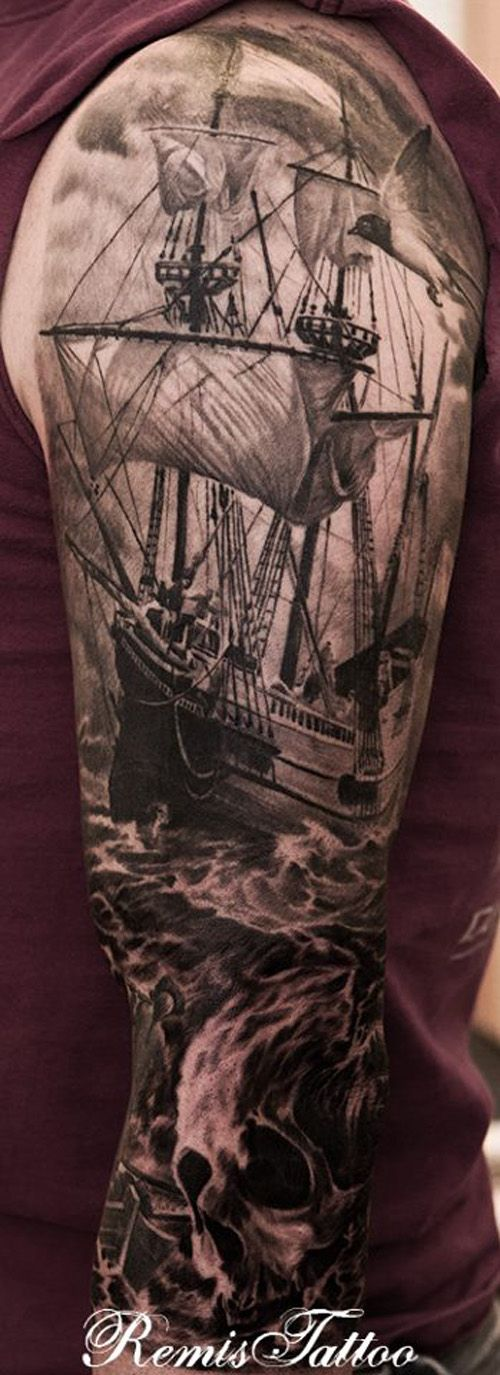 Sleeve tattoo Ideas 42