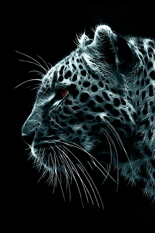 Iphone wallpaper glass animals Quotes Snow Leopard Illustration Iphone Wallpaper Bored Panda 60 Cute Animals Iphone Wallpapers You Would Love To Download