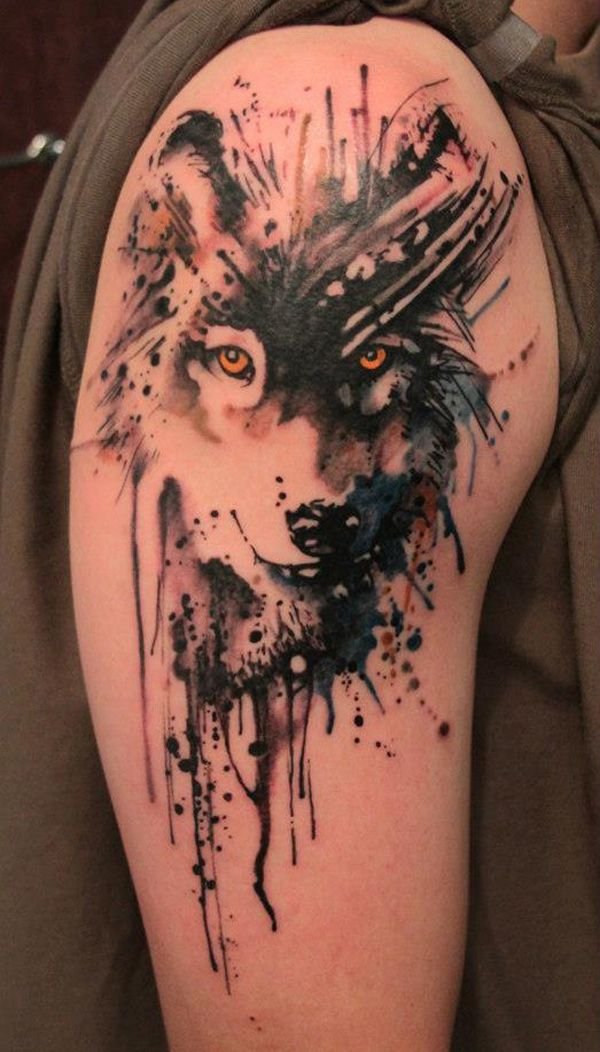 Tattoo Watercolor Ideas 15