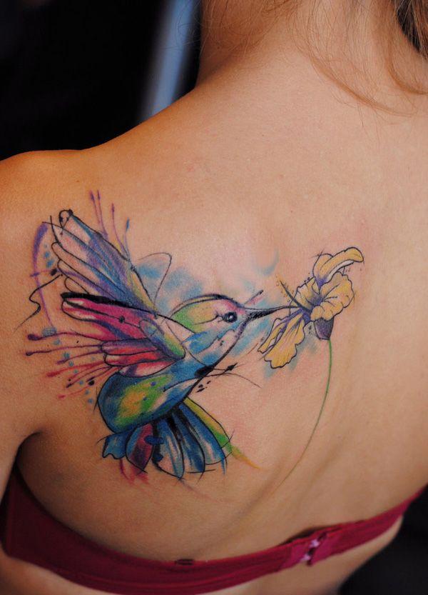 Tattoo Watercolor Ideas 18