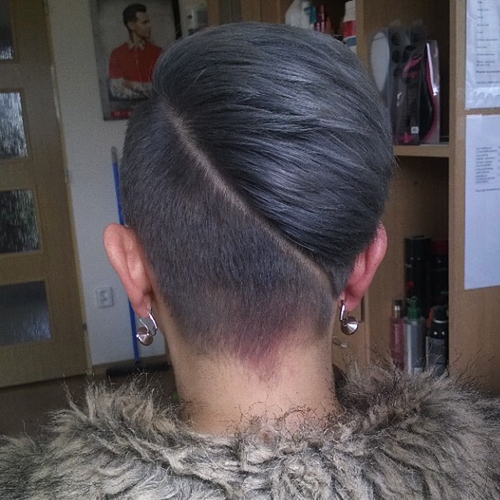 short undercut hairstyle for women 1