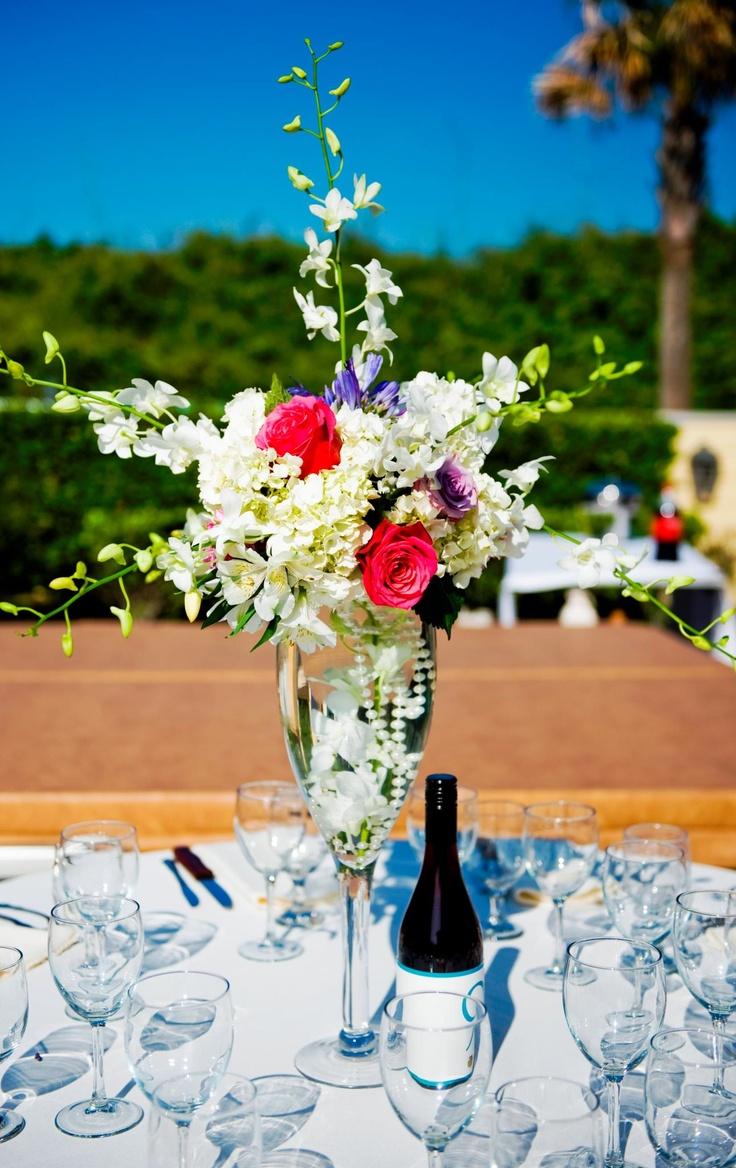 Lovely summer wedding centerpieces inspirations