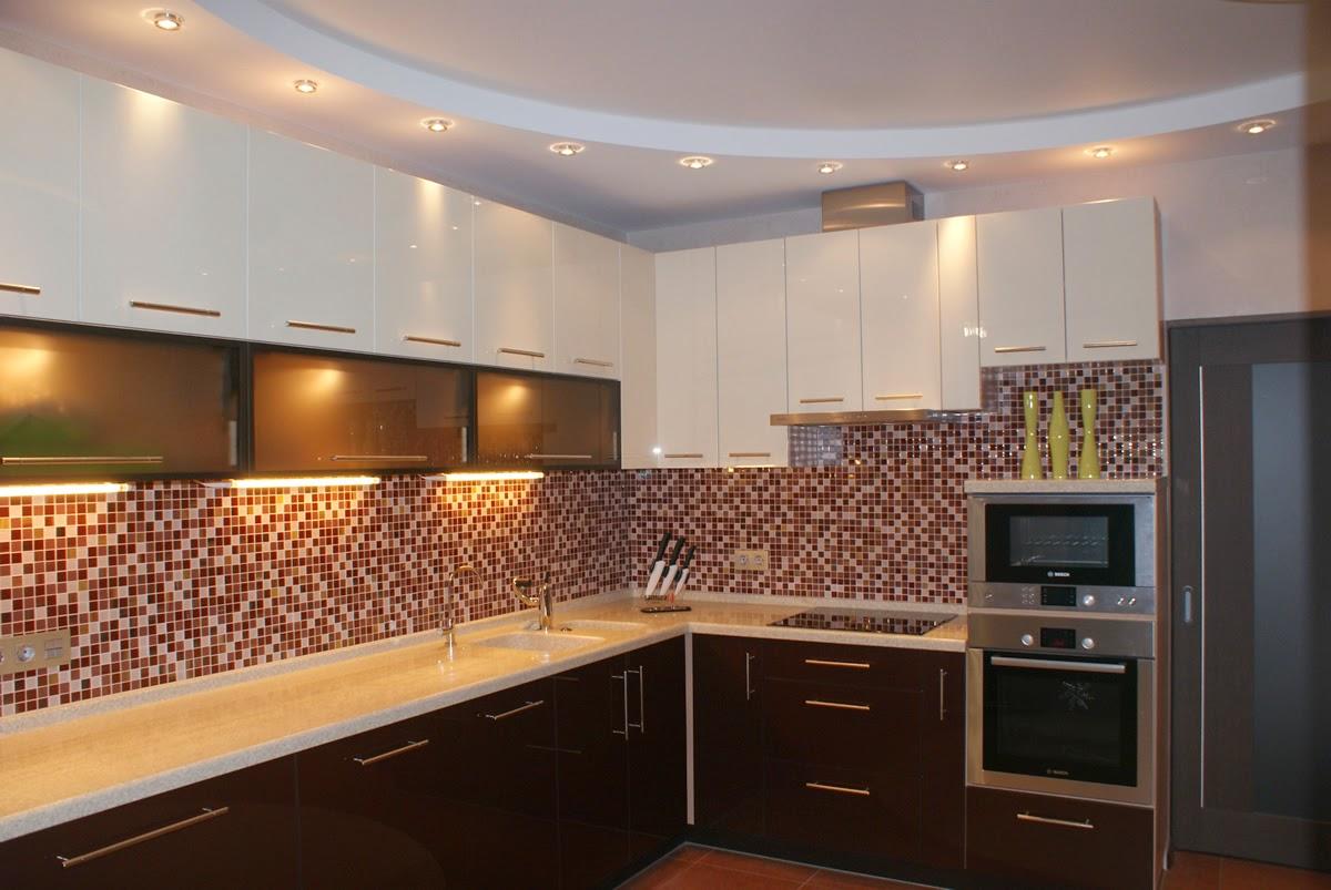gypsum-false kitchen-ceiling-designs