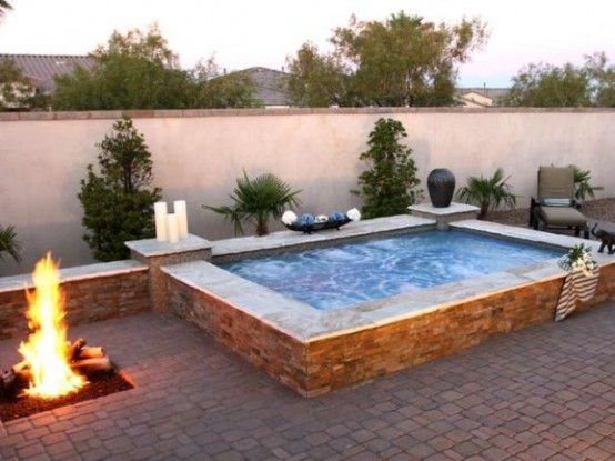25 Dazzling Outdoor Spa Ideas For Your Home