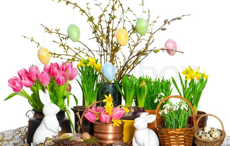 31 Beautiful Easter Flower Table Arrangements