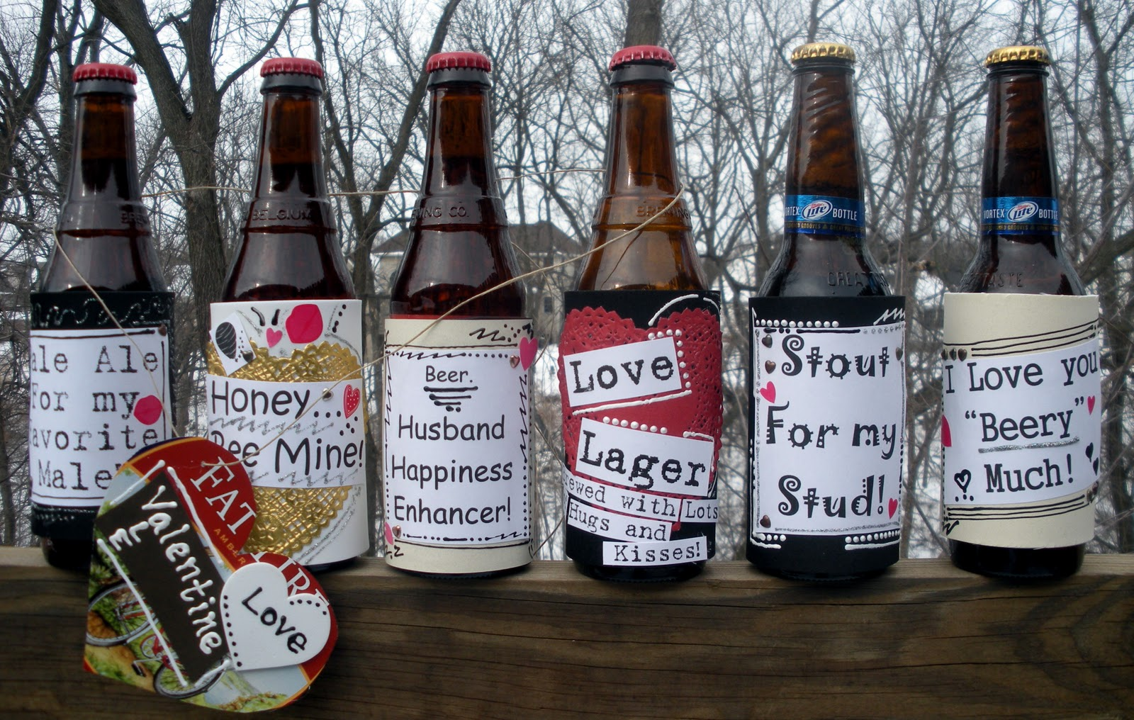 Custom Beer Bottles