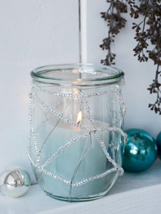 Christmas Candle Decoration