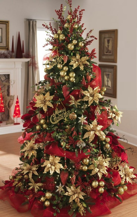 Red And Green Christmas Decoration Ideas 3