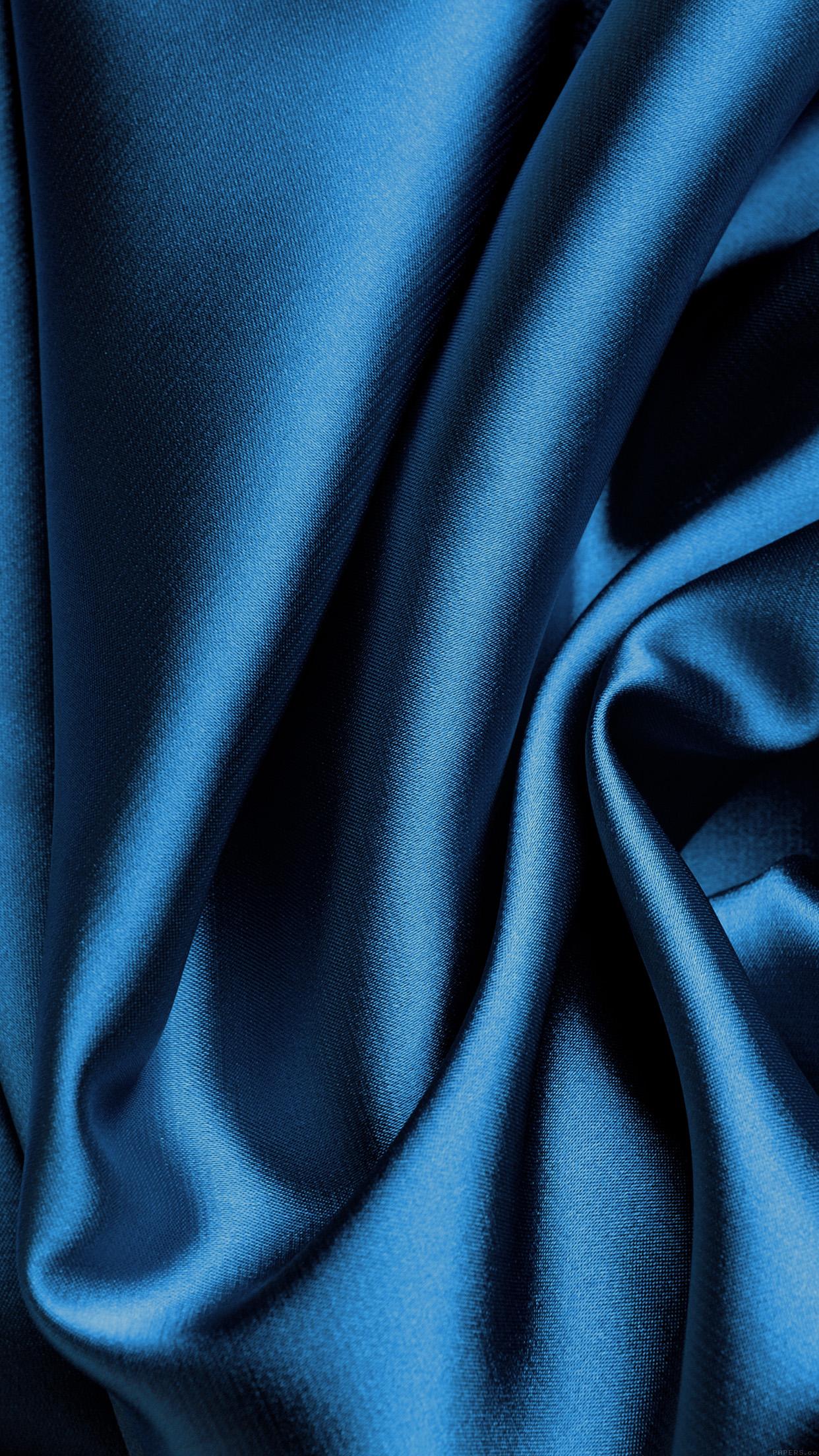 Blue Silk Fabric Texture iPhone 6 Plus HD Wallpaper