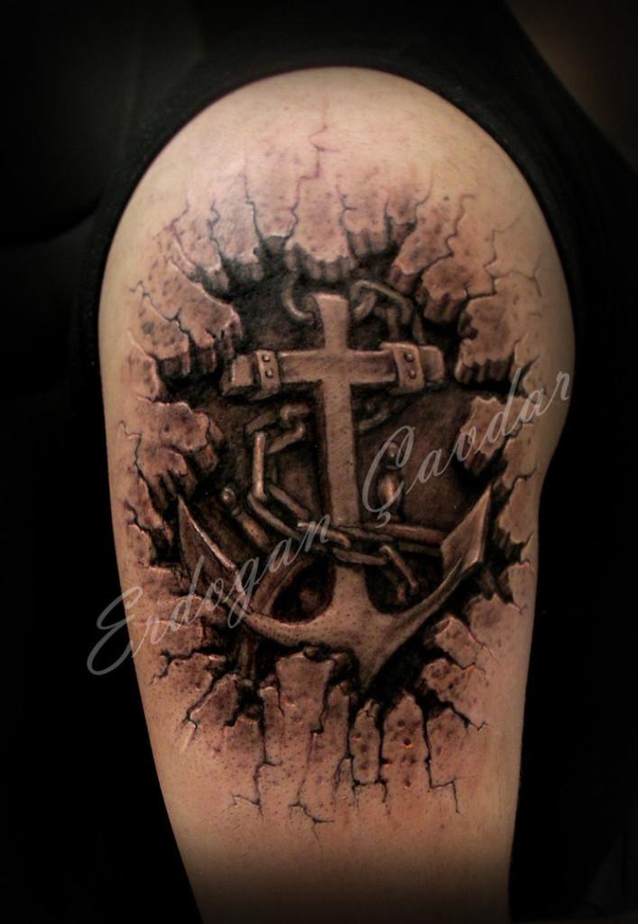 Cross Tattoos 22