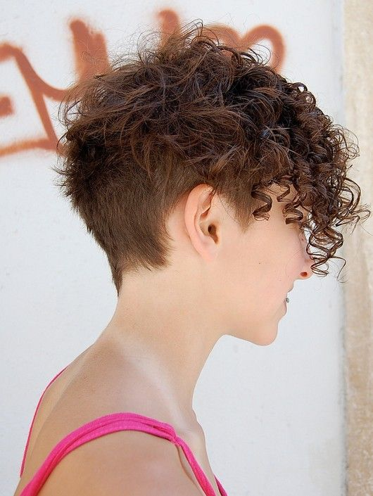 Curly-Pixie-Hairstyle-for-Brown-Hair