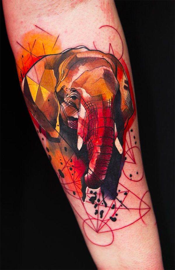 Tattoo Watercolor Ideas 19