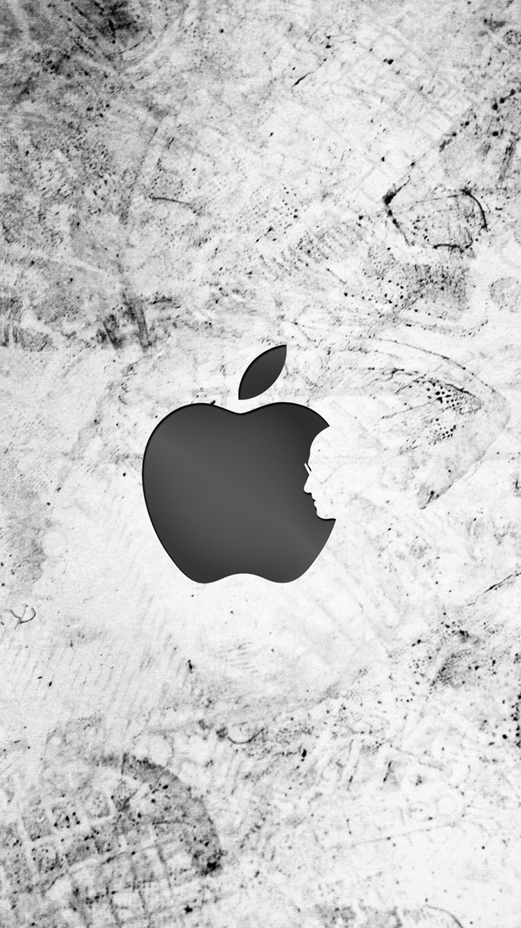 Thank You Steve Apple Logo iPhone 6 Wallpaper